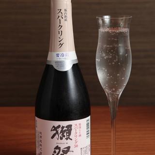 獺祭スパークリング日本酒「500円!!」
