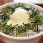 定食 銀次 - 料理写真:温玉釜揚げしらす丼