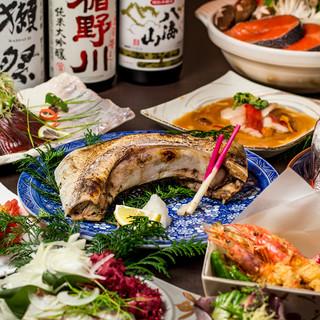 ◆海鮮寄せ鍋付宴会コース◆3h飲み放題付3499円~