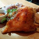 66473599 - つくば鶏のロティサリーチキン 1/4サイズ