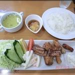 いちカフェレストラン - マグロの竜田揚げランチ