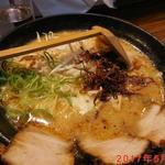 商人らーめん - 料理写真:赤とんこつらーめん \720