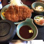 とんかつ夢屋 - 料理写真:ジャンボとんかつ