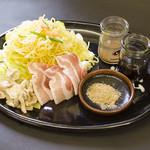 お好み焼き 道とん堀 - コシが強く食感のある麺の富士宮焼きそば