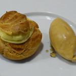 ル・レーヴ・アンシュマン - パリブレスト、キャラメルアイス