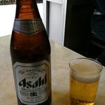 三友軒 - ビール(中瓶) 500円。