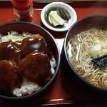 小角食堂 - ひれかつ丼&温かいそば