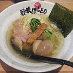 龍旗信LEO - 【塩ラーメン 味玉入】¥930