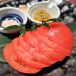 でんのしおり - 冷やしトマト