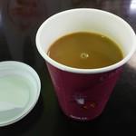 蒜山高原サービスエリア(下り線)レストラン - ホットコーヒー