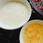 過門香 點 - お粥とスープも優しく!