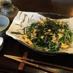 66477785 - 菜花の春蕎麦¥1100
