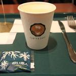 イシヤカフェ - サービスの白い恋人