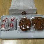 力餅家 - 福面まんじゅうと力餅('17/05/03)