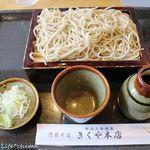 菊屋本店 - 料理写真:もりそば(700円税込)