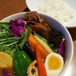 レゴン - 彩り野菜スープカレー 1242円