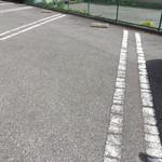 魚登久 - 駐車スペースは広めd(^_^o)