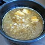 自家製麺ばくばく - つけ汁
