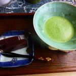 茶房 うえだ - お抹茶と三石羊羹