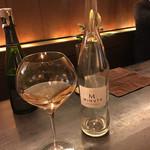 66484474 - プロヴァンスのシャンパンハウスが作ったロゼ。「そんな時代になったんですね」とオーナーも感慨深げなワイン。