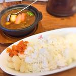 66485516 - 牛すじ野菜カレー(辛口・大盛)!