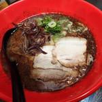麺処 たざ和 TAZATON - 「黒豚骨ラーメン 750円」