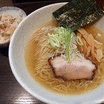 きみの - ランチセット(塩・大盛+炊き込みご飯)890円