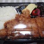 66486076 - 「一番人気のジャンボチキンカツ弁当」