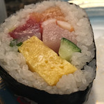66487892 - 珍しい巻き寿司