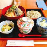 峠の茶屋 こんごう庵 - 天丼定食