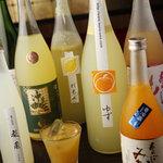 串焼き 和 - 【女性に人気】 果実酒そろえております~
