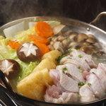 串焼き 和 - 鶏鍋!! コラーゲンたっぷり◎