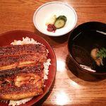 66490504 - ランチ・鰻丼定食 4,320円 2016年2月