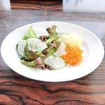 ESCRIBA - リゾットセット 1000円 のサラダ
