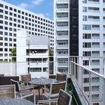 ESCRIBA - 7階のテラス席の風景です