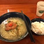 鳥料理 有明 - 軍鶏水炊きらーめん \700