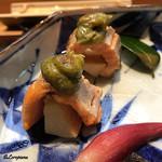 日本料理 旬菜和田 - 桜鱒と筍の木の芽焼