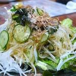 とん平 - 大根サラダ