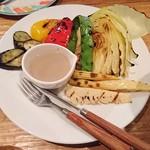 66495825 - グリル野菜のバーニャカウダ