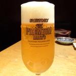 雪月花 - 生ビール(580円)