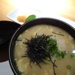 どまん中 - 阿波尾鶏雑炊(750円)