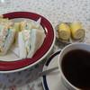 カフェド・モア - 料理写真:玉子サンドモーニング(650円)