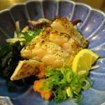 すし丸本店 - 太刀魚タタキ(750円)
