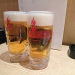 66498302 - ビールで乾杯です♪