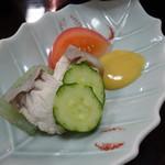 とみや - 鯛めし定食の鮫