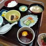 とみや - 鯛めし定食(1,300円)
