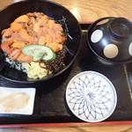 瓢六 - ウニ丼