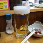 でんいち - 生ビール