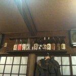6650059 - 棚に焼酎(空瓶?)並んでました