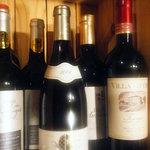 マリオの台所 - ワインも各種リーズナブルに取り揃えております。
